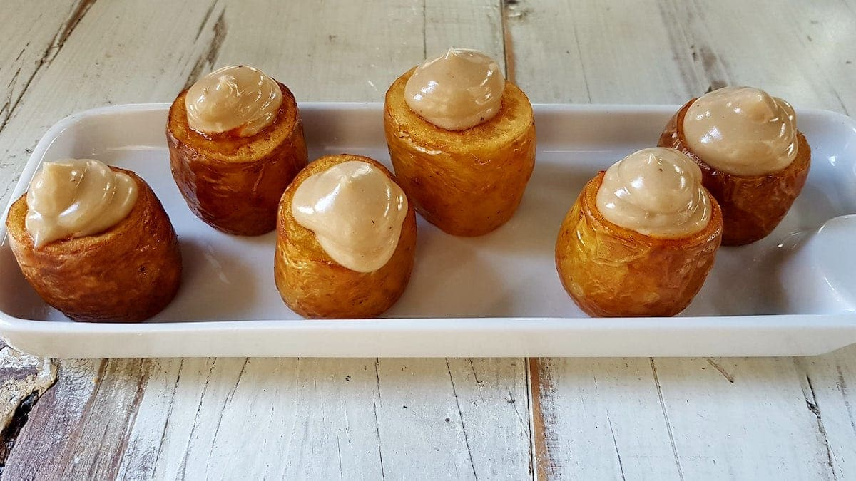Patatas bravas restaurante LLamber Barcelona