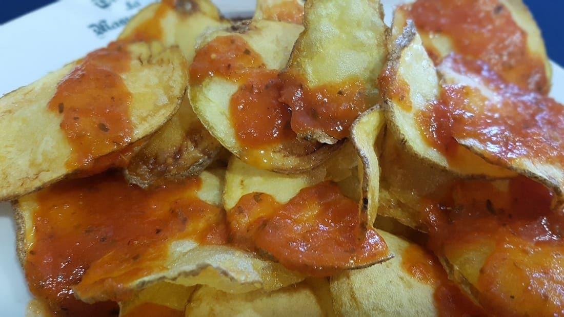 Patatas bravas La Masía del Sur El campello