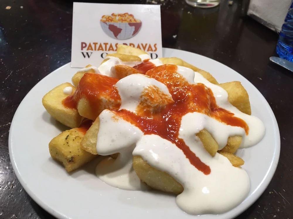 Patatas bravas La Quimera Logroño