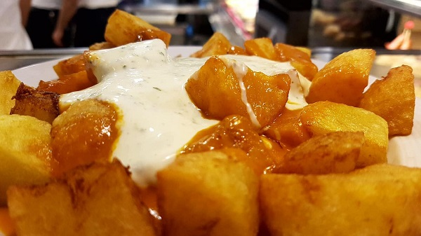 Patatas bravas Pintxos Aurrera Benidorm