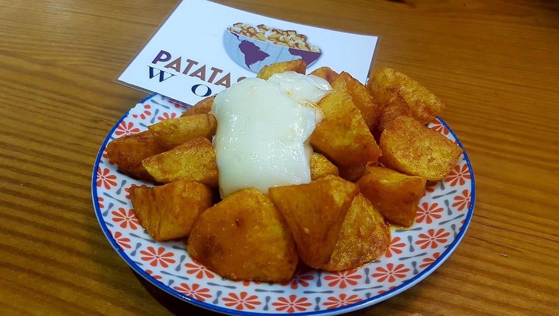 Patatas bravas El Cortijo Andaluz Puerto Sagunto